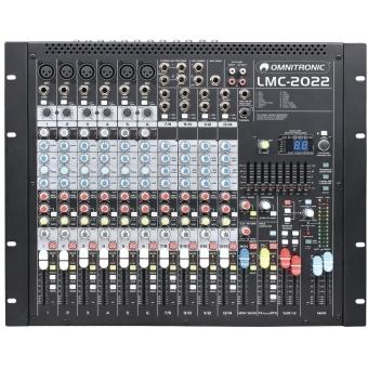 OMNITRONIC LMC-2022FX USB Mixing Console