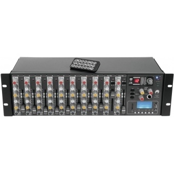 OMNITRONIC RM-1422FX USB Rack Mixer #2