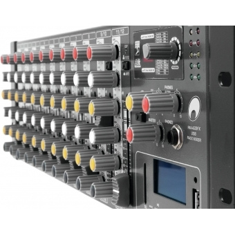 OMNITRONIC RM-1422FX USB Rack Mixer #4