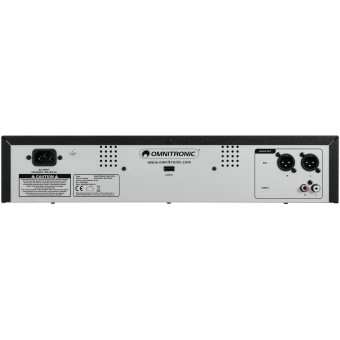 OMNITRONIC CMP-2001 Single CD/MP3 Player #3