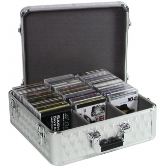 ROADINGER CD Case ALU polished for 100 CDs #2