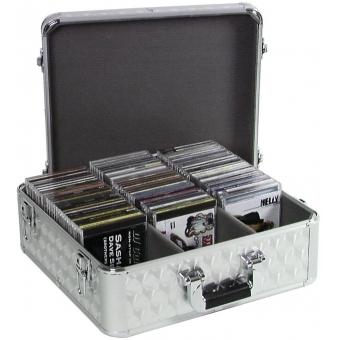 ROADINGER CD Case ALU polished for 100 CDs #2