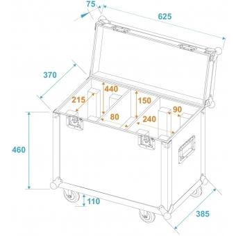 ROADINGER Flightcase 2x TMH-X12 #5