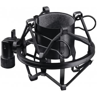 OMNITRONIC Microphone-Shockmount 44-48mm bl