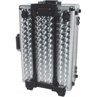 ROADINGER CD Case polished 120 CDs with Trolley #4