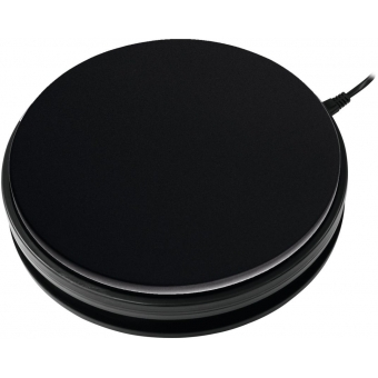EUROPALMS Rotary Plate 25cm up to 25kg black #2
