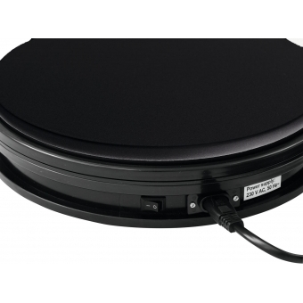 EUROPALMS Rotary Plate 25cm up to 25kg black #3