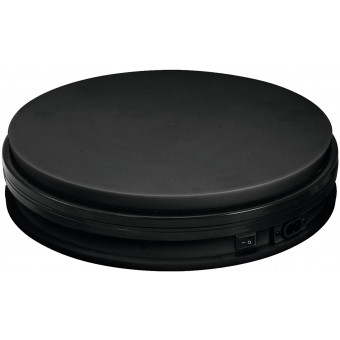 EUROPALMS Rotary Plate 45cm up to 50kg black #2