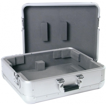 ROADINGER Turntable Case Tour ALU silver #3