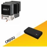 Doza pick-up Shure M44-7 System + CADOU U8420 UDG CREATOR CARTRIDGE HARDCASE