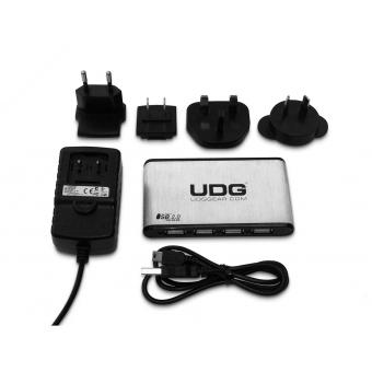 UDG Creator DIGI Hardcase Large Black (With 7-Port USB HUB And Power Adapter) #3