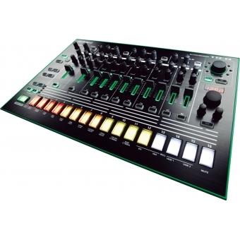 Roland TR-8 Rhythm Performer + CADOU U9445 COURIER BAG DELUXE ARMY DESERT #4