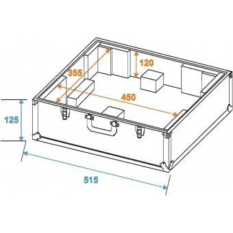 ROADINGER Turntable Case silver -S- #2