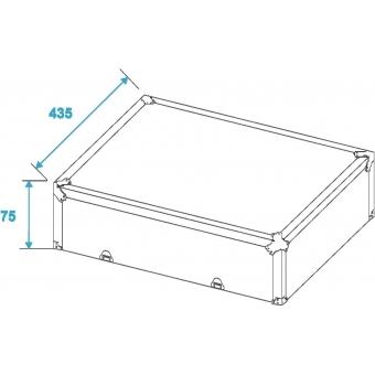 ROADINGER Turntable Case silver -S- #4