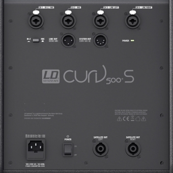 LD Systems CURV 500 PS - Set Array System cu stative si cabluri #4