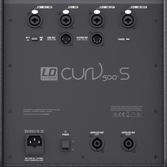 LD Systems CURV 500 PS - Set Array System cu stative si cabluri #4