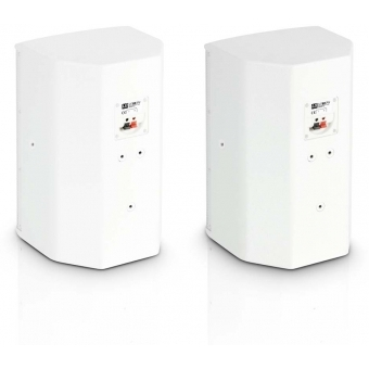 """LD Systems SAT 62 G2 W - 6.5"""" Installation Monitor passive white (pair) #2"""