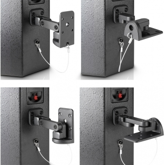Adam Hall Stands - Universal Wall mount for speakers #4