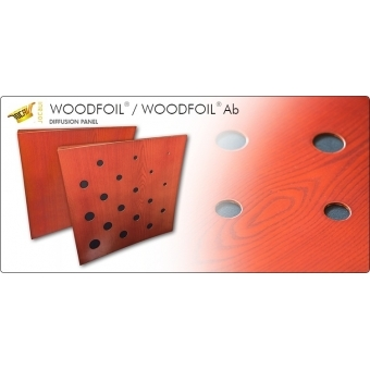 Panou acustic Jocavi Diffusion Woodfoil Ab