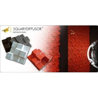 Panou acustic Jocavi Diffusion Squarydiffuser Tile