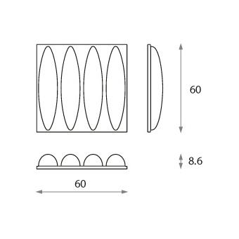 Panou acustic Jocavi Diffusion Dynamicflow #2