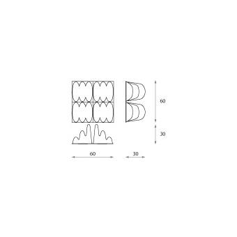 Panou acustic Jocavi Diffusion Effectfuser EFX060 #2