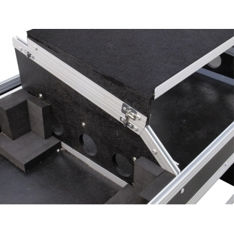 ROADINGER Console Road Table 2xTT with Laptop Tray #4