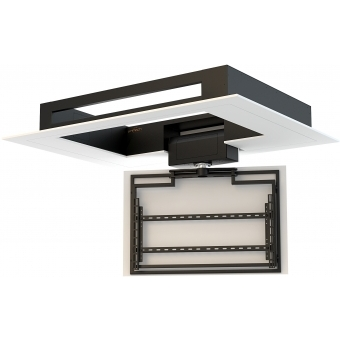 Flat Panel Ceiling Lift with Rotation FPLCV2SLIM42-50+R