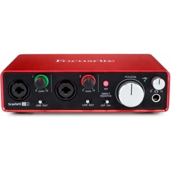 Interfata audio Focusrite Scarlett 2i2 #3