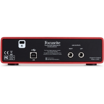 Interfata audio Focusrite Scarlett 2i2 #5