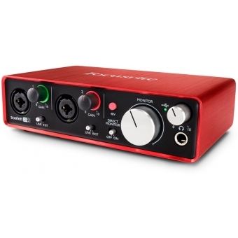 Interfata audio Focusrite Scarlett 2i2