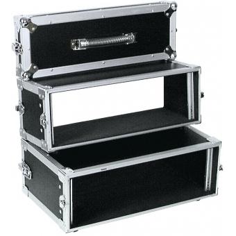 ROADINGER Double CD Player Case Tour Pro 3U black