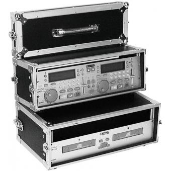 ROADINGER Double CD Player Case Tour Pro 3U black #3