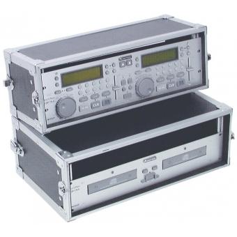 ROADINGER Double CD Player Case Tour Pro 3U black #4