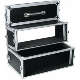 ROADINGER Double CD Player Case Tour Pro 3U black