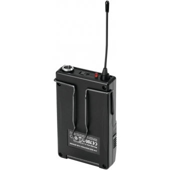 OMNITRONIC UHF-502 Bodypack incl. 823-832MHz Lavalier (CH B oran #3