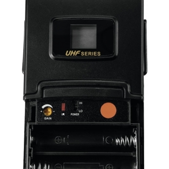 OMNITRONIC UHF-502 Bodypack incl. 823-832MHz Lavalier (CH B oran #4