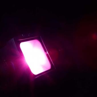 Cameo FLAT PRO FLOOD IP65 TRI - Outdoor Flood Light with 60 Watt Tri-Color COB LED in black housing #8