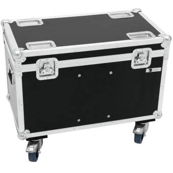 ROADINGER Flightcase 2x TMH-X5 with Wheels #2