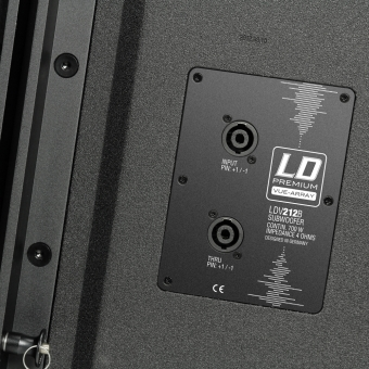 "LD Systems V 212 B - Riggable 2 x 12"" Bandpass Subwoofer 700W passive #5"