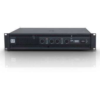 LD Systems DEEP2 Series - PA Power Amplifier 4 x 810 W 4 Ohm