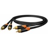 Cablu Sommer HICON Ergonomic 2RCA/2RCA - 0.75M