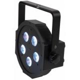 LED Par Flat 5 x 10w