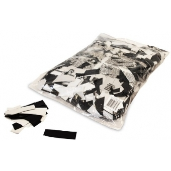Confeti metalice dreptunghiulare 55x17mm -Bicolore,1kg #2