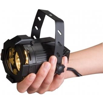 Elation Opti PAR 16 LED 4x1W cw/6 black #7
