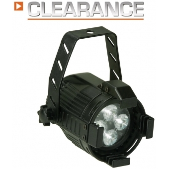 Elation Opti PAR 16 LED 4x1W cw/6 black