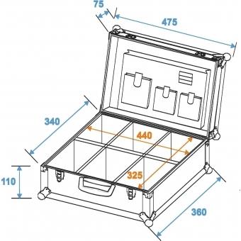 ROADINGER Universal Tool Case, black #10