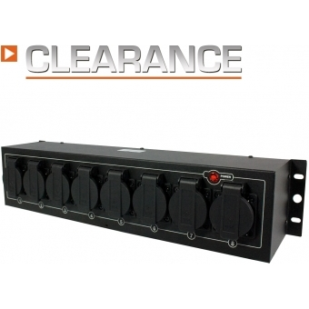Elation LC-8SP  8-Ch. Power Pack light copilot