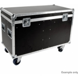 Elation Tourcase ECO 4 x Platinum Wash ZFX PRO