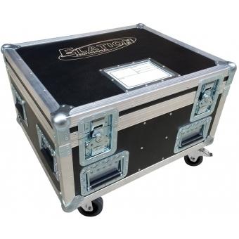 Elation Pro Case 6 X Rayzor Q7
